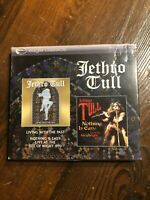JETHRO TULL-LIVING WITH THE PAST/NOTHING IS EASY 2cd NEW SEALED CD