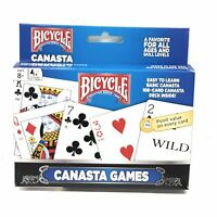 Bicycle 2 Pack Canasta Card Games