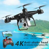 WIFI Drone With Camera HD 4K Live Video FPV Foldable Flow selfie RC Quadcopter