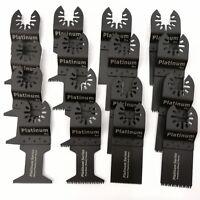 16 Pc Oscillating Multi Tool Saw Blade For Fein Multimaster BOSCH Dremel Makita