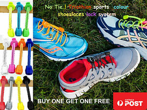 Elastic Shoe Laces For Sports,No tie lace,BUY1GET1FREE ,2 Pairs for $ 8 Only