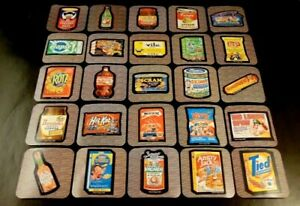 Wacky Packages Minis STICKERS 2020 3D Puny Products Black Border Worlds Smallest
