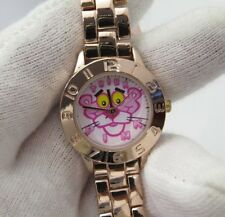 "PINK PANTHER,Massimo,""Rose Gold Lady's/Girls CHARACTER WATCH,New In Box,R18-79"