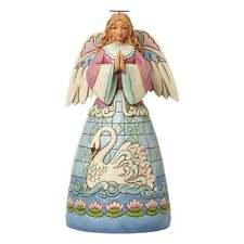 Jim Shore Heartwood Creek Grace Divine Angel With Swan Figurine New 4040793