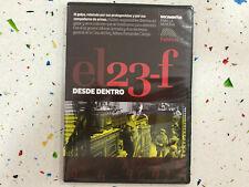 23-F DESDE DENTRO DVD 23 FEBRERO EL GOLPE DE ESTADO 23 - F NUEVO  PRECINTADO