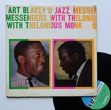 "Vinyle 33T Art Blakey's Jazz Messengers  ""... with Thelonious Monk"""