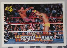 The Ultimate Warrior & Rick Rude 1990 Classic Wrestlemania V 5 WWF Card #104 WWE
