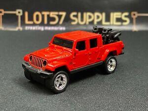Hot Wheels LOOSE 2020 '20 Jeep GLADIATOR Custom SUPER w/Real Riders 1:64