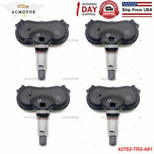 4-Pack 42753-TR3-A810 Tire Pressure Monitoring Sensor 315MHZ TPMS compatible with ACURA CSX HONDA Civic CR-Z Element Fit Insight Odyssey