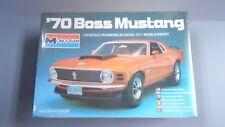 MONOGRAM 1970 BOSS 429 FORD MUSTANG PLASTIC MODEL CAR KIT 1/24 ©1981 SEALED