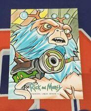 Rick and Morty Season 3 Artist Sketch Card 1/1 - Cleber Lima