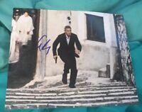 GEORGE CLOONEY SIGNED 8X10 PHOTO BATMAN B W/COA+PROOF RARE WOW