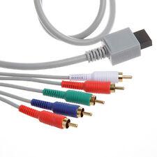 Nintendo Wii HD High Definition Component Audio Video TV AV Cable Cord YUV  Y/Pr