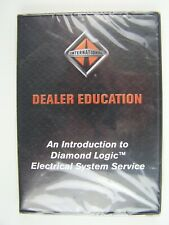 International Truck Diamond Logic Electrical System DVD New SEALED