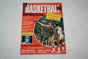 1971-72 Pro Basketball Special Magazine * Kareem Abdul Jabbar * Pete Maravich EX