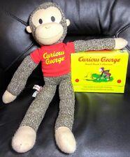 Curious George Board Books & Stuffed Animal Schilling 4 books & Plush
