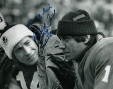 RICHARD TODD signed autographed NFL NEW YORK JETS w/ JOE NAMATH photo