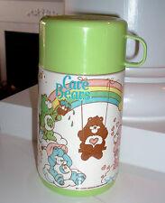 RARE 1986 Aladdin Care Bears Thermos - GREEN