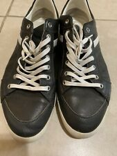 Dior Homme Mens Leather Brown White Sneakers Shoes Size 45