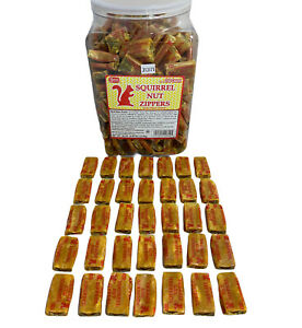 35 PIECES of Squirrel Nut Zippers NECCO DISCONTINUED RARE CANDY