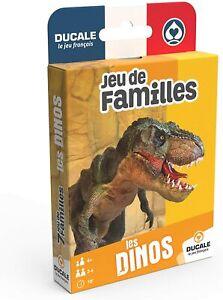 Ducale, Le Jeu Français 7 Familles Les Dinos - Jeu de Cartes Enfant, Dinosaures