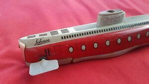 Blech Spielzeug SCHUCO U-Boot Submarino 3007 für Bastler