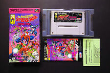 THE AMAZING SPIDERMAN LETHAL FOES Nintendo Super Famicom JAPAN Good Condition !