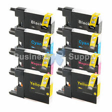 8 PACK LC71 LC75 Ink Cartridge for Brother MFC-J5910DW MFC-J625DW MFC-J6510DW