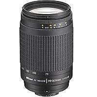 Refurbished Nikon  Zoom-Nikkor AF G 70-300mm 4-5.6  Lens