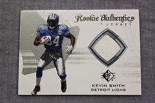 KEVIN SMITH Detroit Lions 2008 SP AUTHENTIC ROOKIE AUTHENTIC JERSEY RC GU