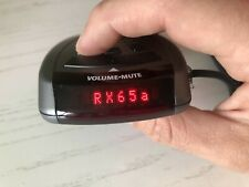 Beltronics rx65a red radar detector ASIA version USED