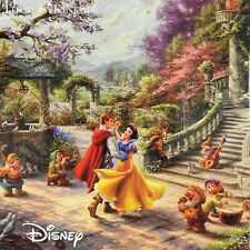 Disney Snow White Dancing in the Sunlight 750 Piece Puzzle Ceaco Thomas Kinkade