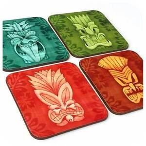 Tiki Coasters, Tiki Bar Accessories, Tiki Home Decor, Tiki Homewares, Tiki Masks