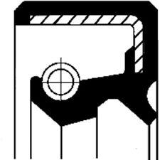 CORTECO WELLENDICHTRING, DIFFERENTIAL HYUNDAI, MAZDA, MITSUBISHI 19016578B