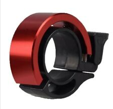 Bike Bicycle RED Handlebar Bell Metal Loud Horn Ring Safety Mtb road Commuter.