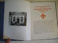 1904  ST LOUIS  U.S.A.  CAR  CO.  UNIVERSAL EXPOSITION  ESPOSIZIONE UNIVERSALE