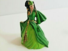 "Franklin Mint Figurine Gone With The Wind ""Scarlett's Curtain Dress"""