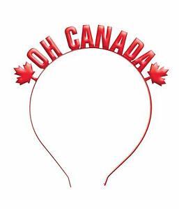 Canada Day Canadian Flag Maple Leaf Holiday Theme Party Favor Headband