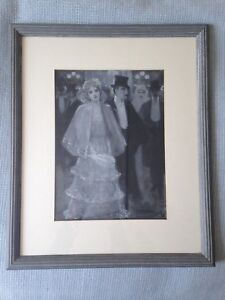 Antique original painting signed by Cecil Watson Quinnell RBA (1868-1932) 1898