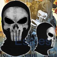 The Punisher Skull Cosplay Balaclava Ghost Mask Hood Face Biker CS Halloween