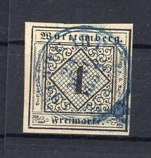 Württemberg 1 LUXUS timbré (A5503