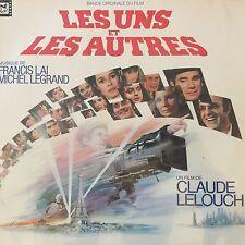 2 x 33T LES UNS ET LES AUTRES Film Vinyls LP 12 LAI LEGRAND LELOUCH Boléro RAVEL