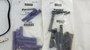 20 (LOT) POMONA 5155-7,  5156-0 STRAIN RELIEF STRESS BOOT RG59, RG59 10 OF EACH