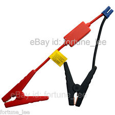 Booster Cable Car Battery Connection Jumper Jump Start Prevent Reverse Charge