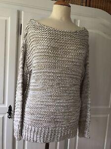 Zara knit Pullover, Gr.S , Grobstrick, Sommer