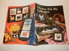 Chicken Pot Pie Collection by Sandra McLean  Rooster Craft Painting patterns