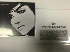 "U2 'SONG FOR SOMEONE AND EVERY BREAKING WAVE"" TWO MINT ONE TRACK CD PROMO'S"
