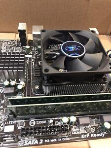 GIGABYTE MOBO CPU AND RAM COMBO