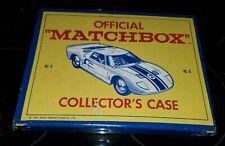 VINTAGE 1966 Matchbox Fred Bronner 48 Car Collector's Case