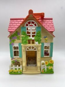Fisher Price Loving Family Sweet Streets Country Cottage 2000 Mattel House #0949